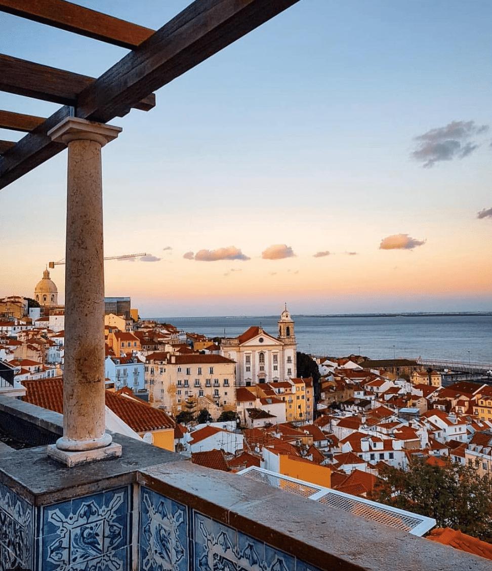 As sete colinas de Lisboa