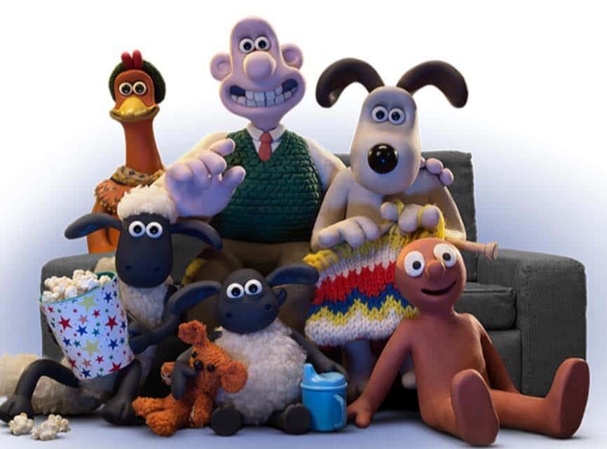 A Ovelha Choné, o Wallace e o Gromit já estão em Lisboa