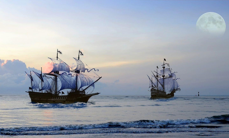 Uma festa pirata no Tejo com bar aberto de rum