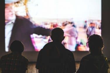 Cinema ao ar livre no Convento de São Pedro de Alcântara