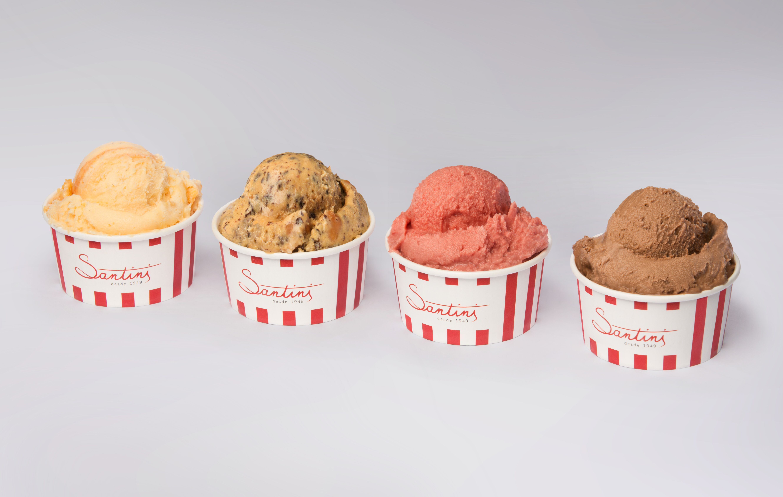 Nos 70 anos da Santini há gelados grátis e uma Roda da Sorte