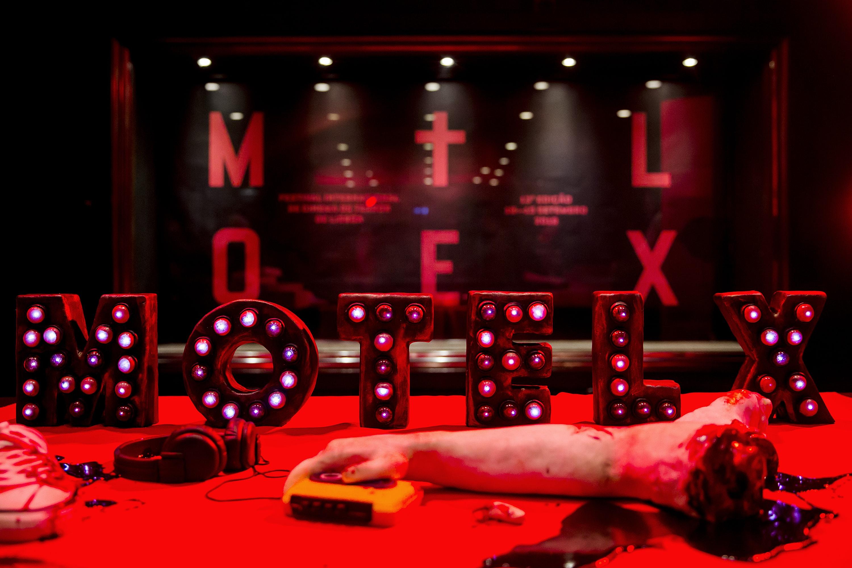 cartaz do festival MOTELX de cinema de terror de Lisboa