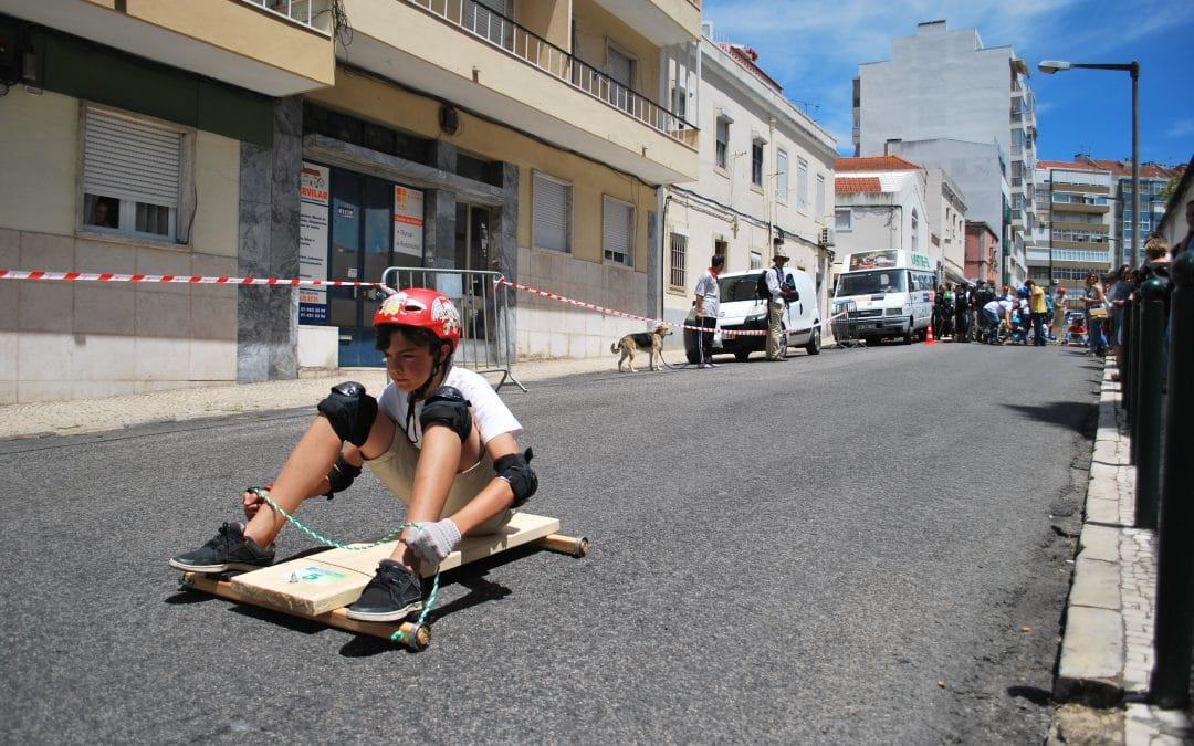 A adrenalina dos carrinhos de rolamentos volta à Estrela