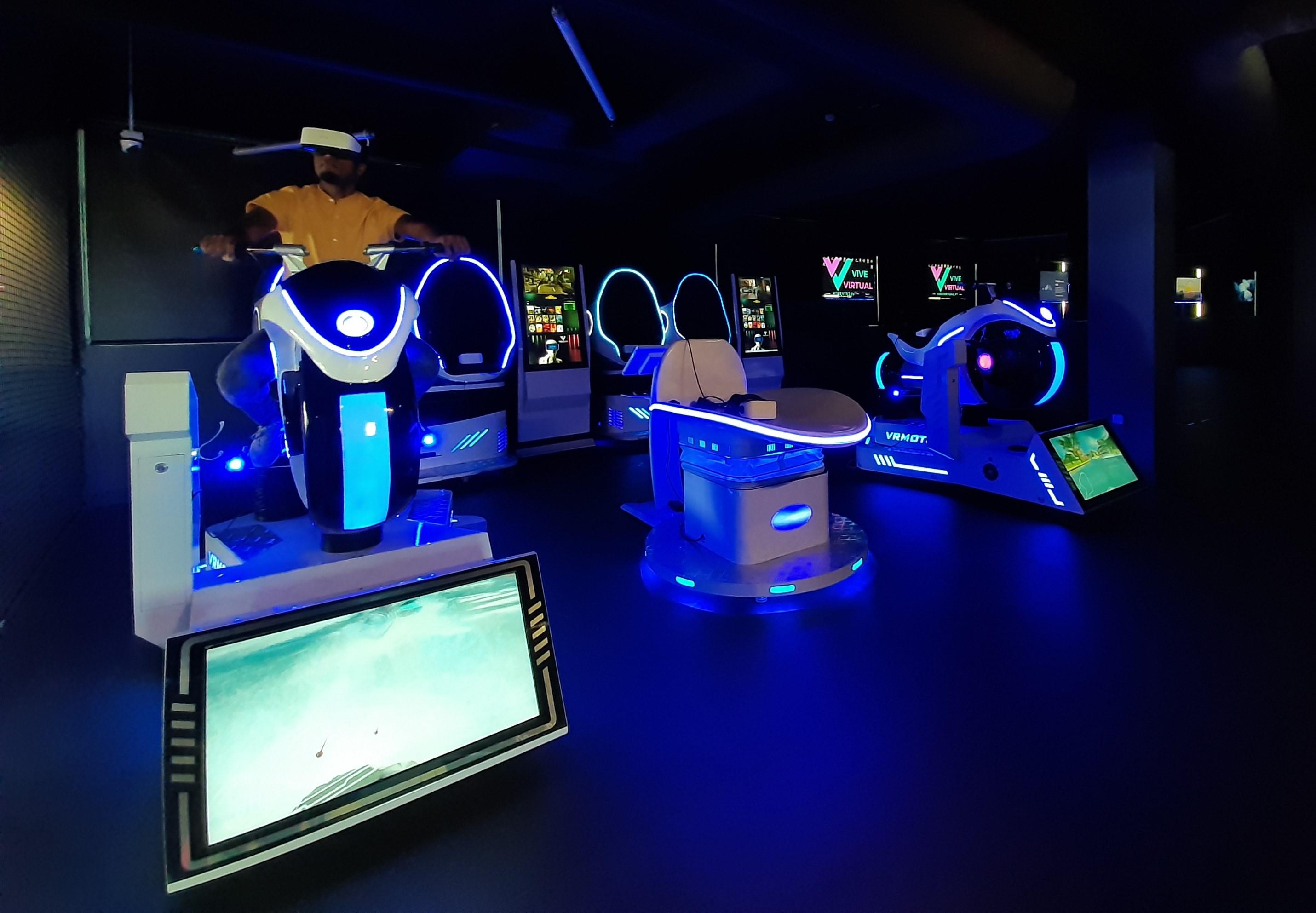 Vive Virtual: mais de 100 jogos no mais completo centro de realidade virtual de Lisboa