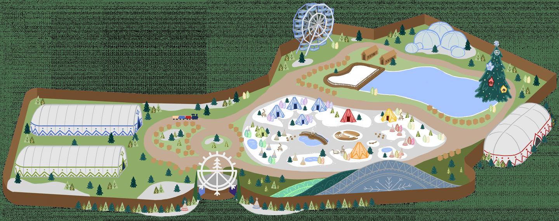 Algés vai receber maior Parque de Natal da Europa com neve a sério - mapa de atividades