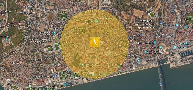 Belém e Ajuda, zona sugerida pela Lisboa Secreta para estacionar grátis em Lisboa