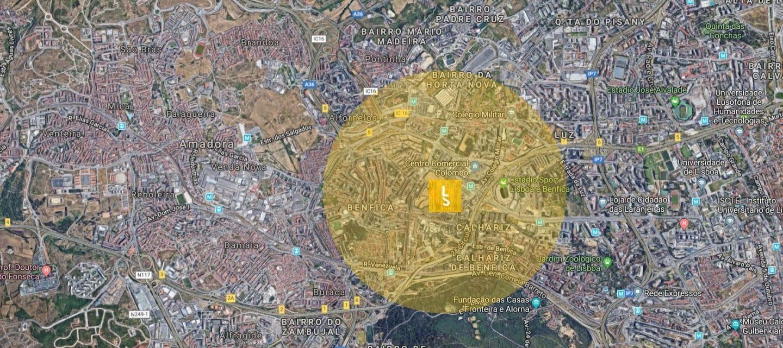 Benfica, zona sugerida pela Lisboa Secreta para estacionar grátis em Lisboa