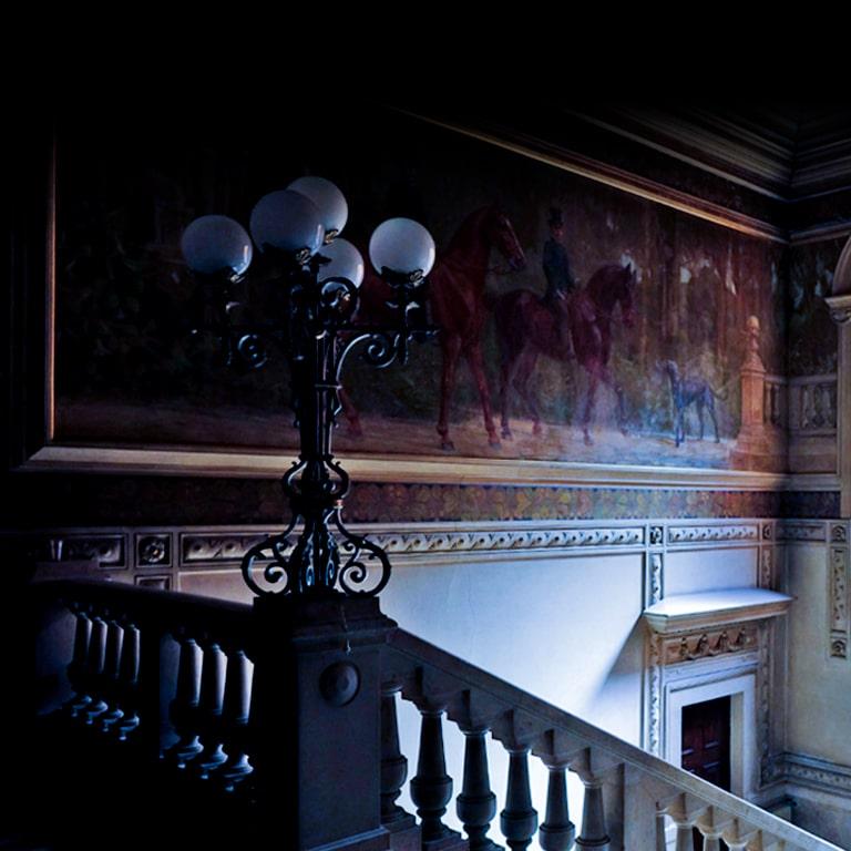 Palácio Jogo imersivo Murder Mystery