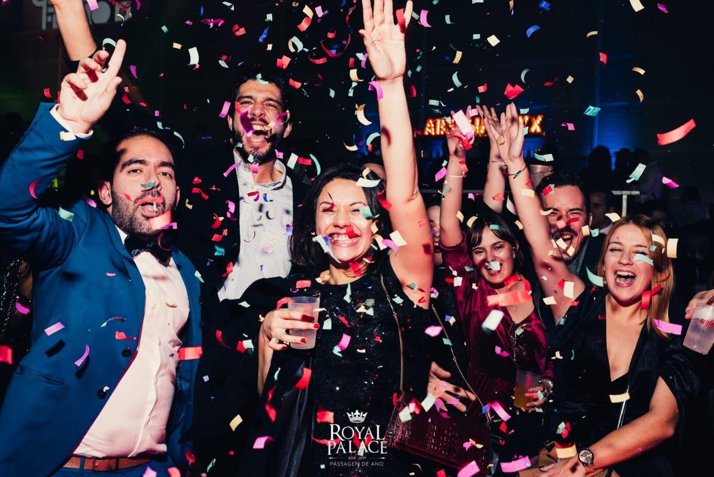 Brinda a 2020 na festa de passagem de ano do Royal Palace