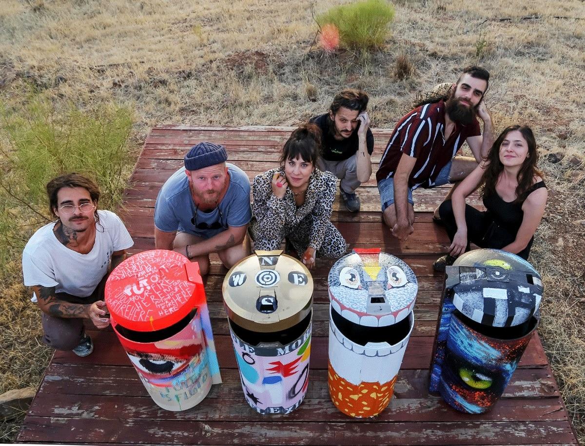 coletivo de artistas Zero Waste Lab