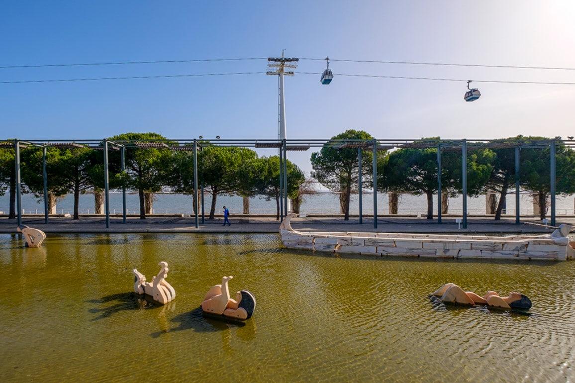 Lago das Tágides, por João Pires Cutileiro