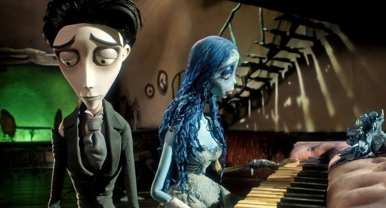 cena do filme A Noiva Cadáver, de Tim Burton