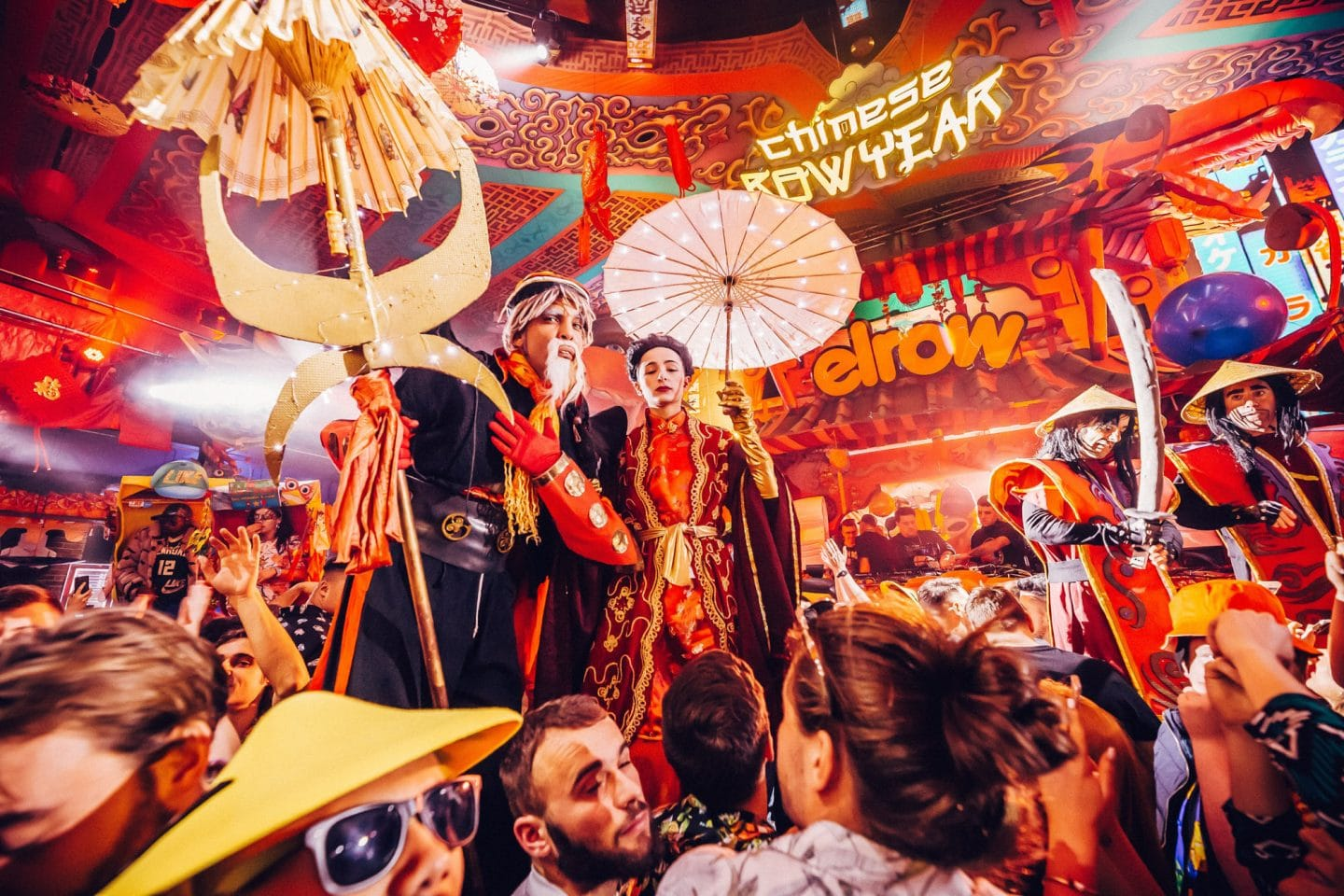 Elrow Chinese Row Year