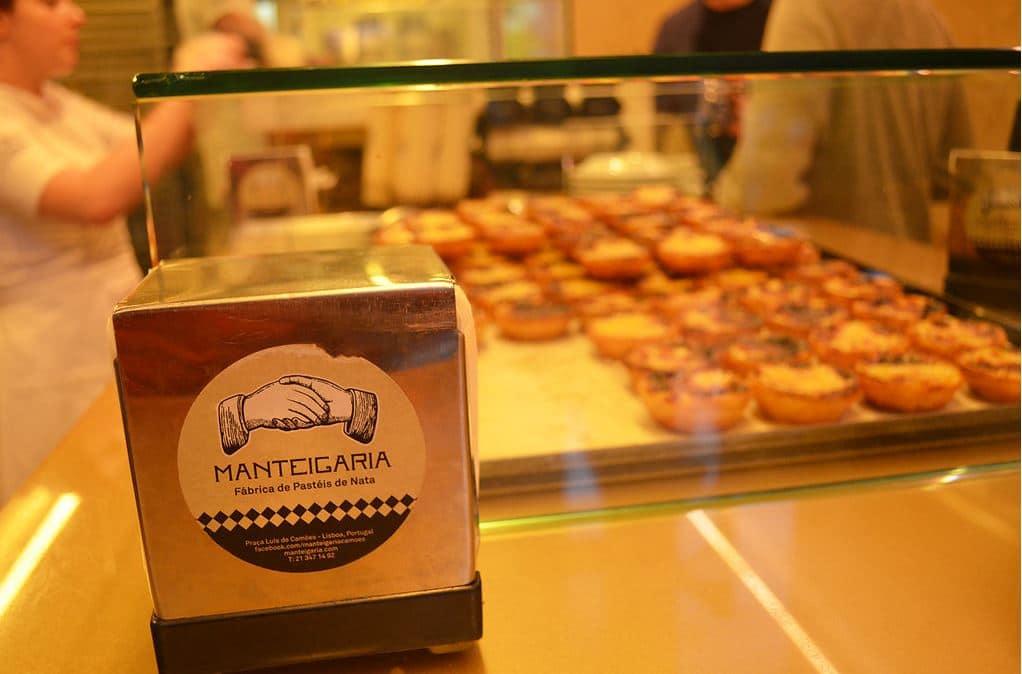 Pastéis de nata da Manteigaria descem até à Rua Augusta