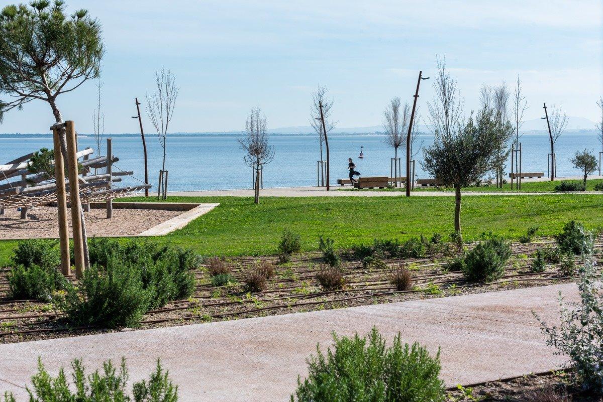 Lisboa tem um novo parque junto ao Tejo