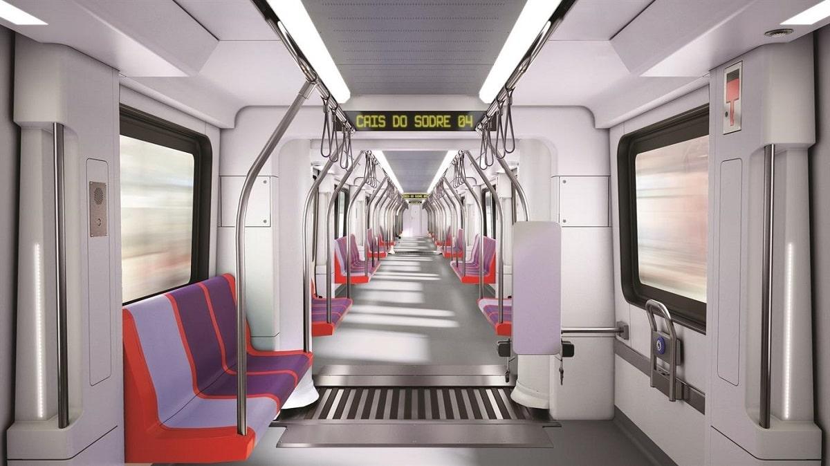 Metro de Lisboa vai ter 42 carruagens novas em folha