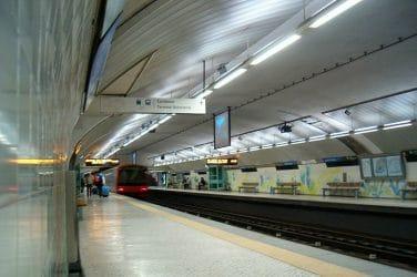 estação de metro jardim zoológico em lisboa