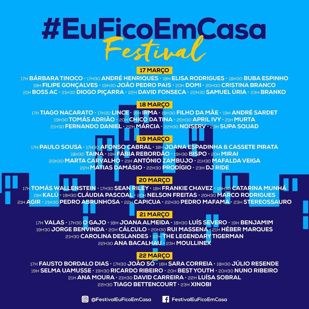 cartaz #EuFicoEmCasa