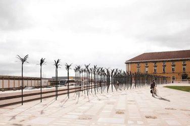 Memorial de homenagem às vítimas da escravatura no Campo das Cebolas