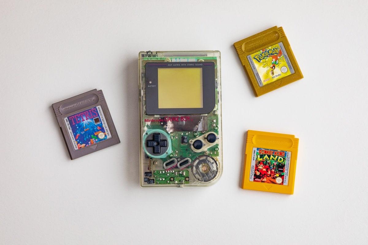 consola de jogos nintendo gameboy