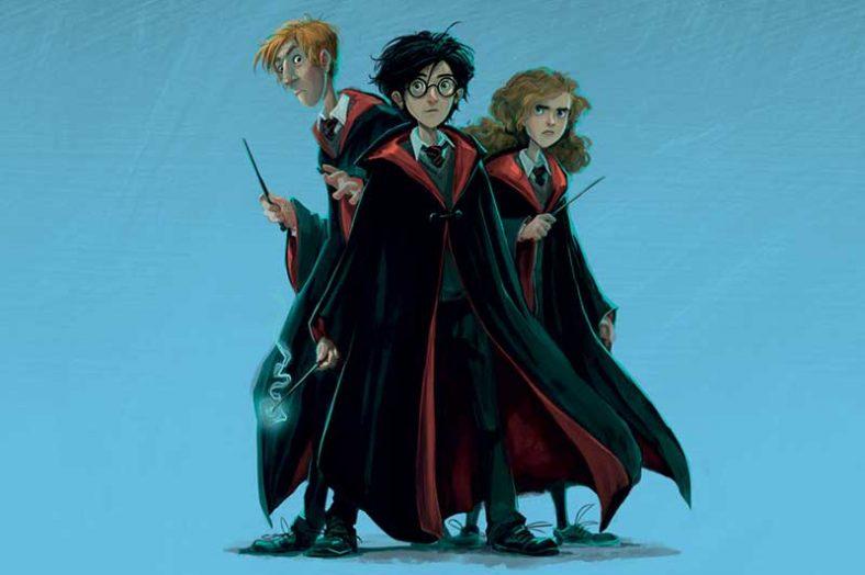 Ilustração do Harry Potter de Jonny Duddle