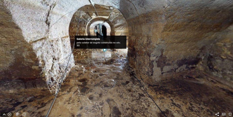 Já podes visitar as Galerias Romanas de Lisboa no conforto do sofá
