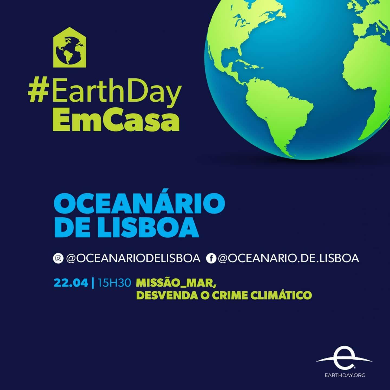cartaz #earthdayemcasa