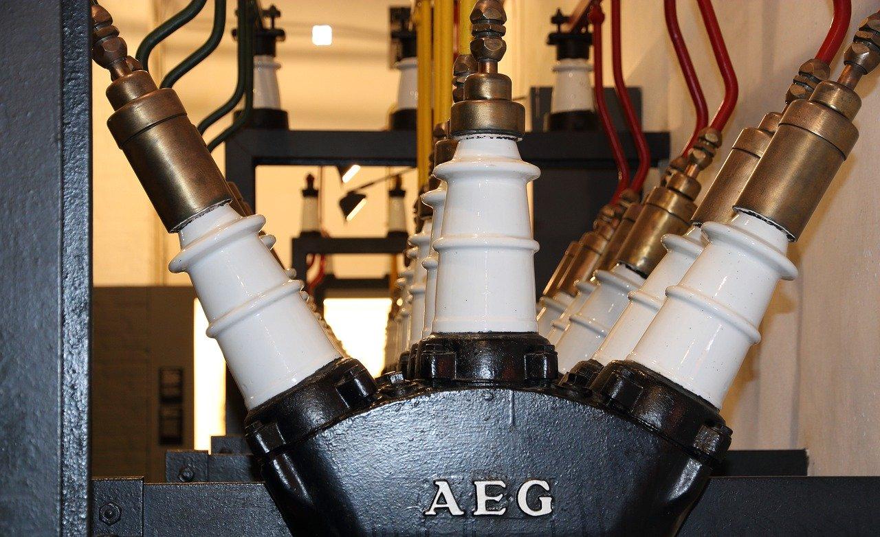 equipamento do museu da eletricidade