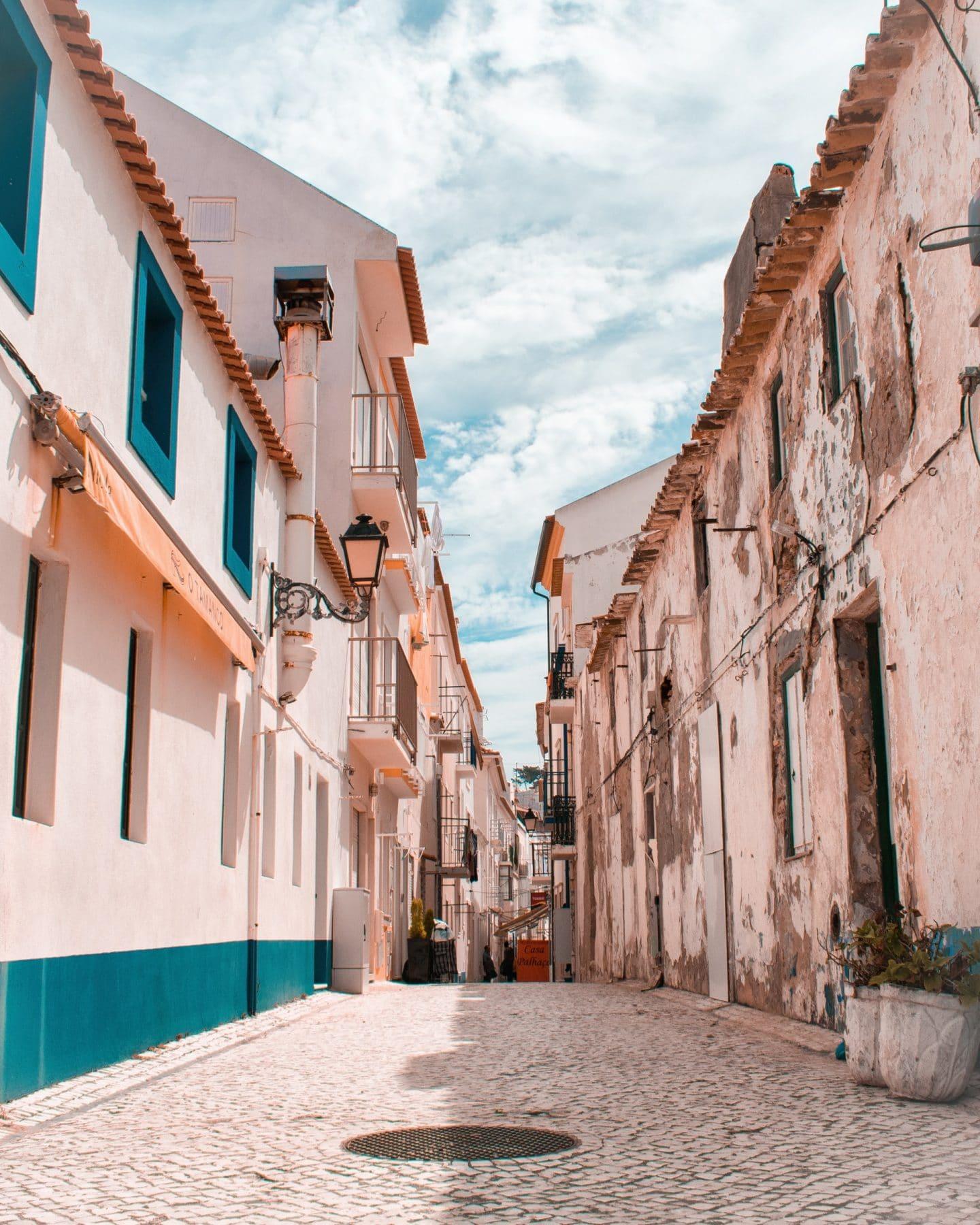 ruas e esquinas da nazaré