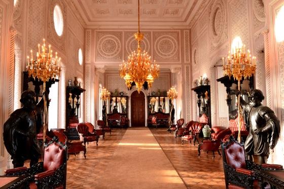 salão nobre do palácio da pena
