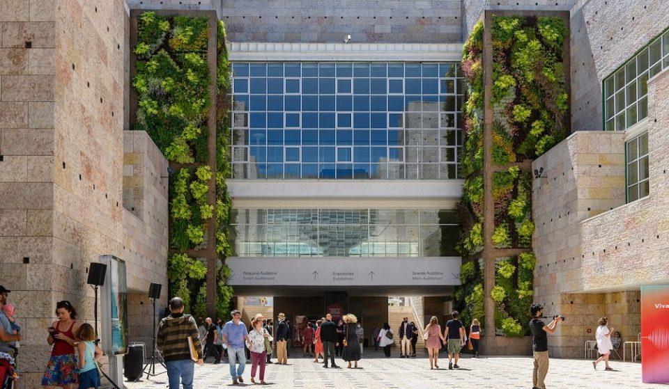 Centro Cultural de Belém apresenta um novo jardim vertical