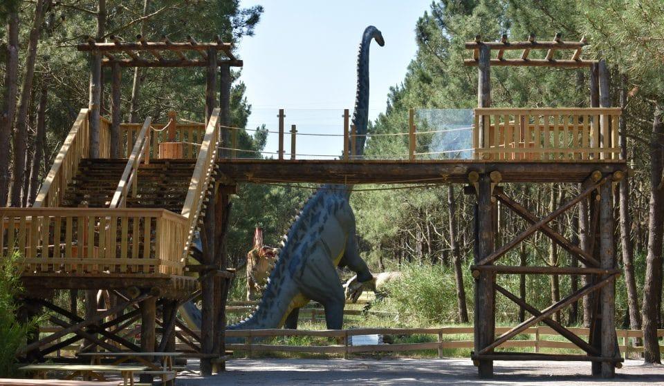 Dino Parque aposta em novos atrativos para este verão