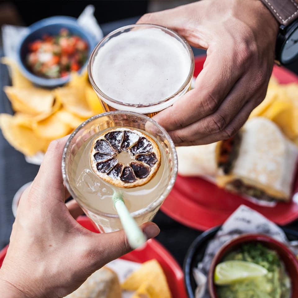 cocktails no El Cabron