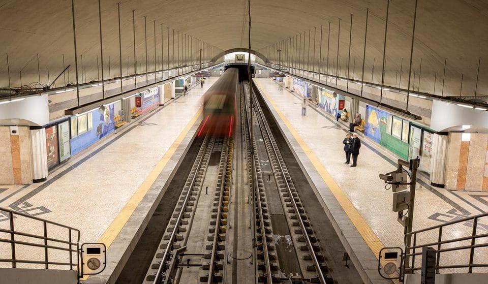 Terminaram as obras na estação de Metro dos Olivais